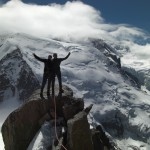 French Alps Just completed the Cosmiques Arete