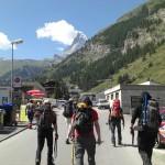 Matterhorn Arriving in Zermett