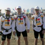 Sahara at the start of the marathon des sables