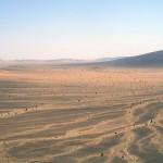 sahara having climve from the plateau