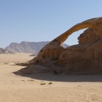 A delicate Arch - The Jordanian Desert - Camo