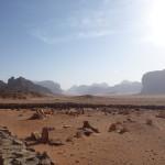 A desert cemetery Jordan - Camo