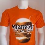 MARCH Marathons Casual T – Orange